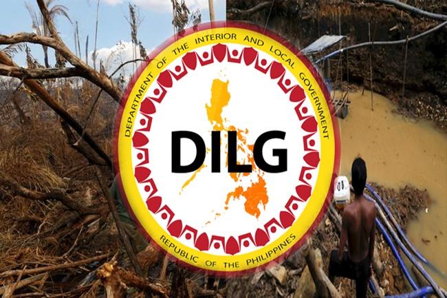 ILLEGAL LOGGING mining DILG