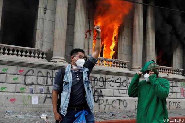guatamela protest