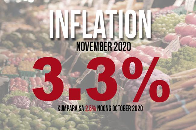 NOV INFLATION