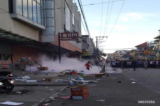 south sea mall bombing