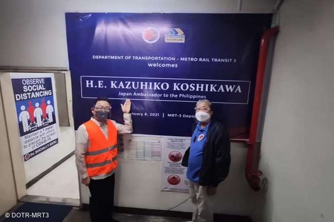 Japanese Ambassador to the Philippines Koshikawa Kazuhiko mrt