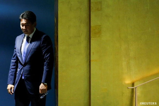 Mongolias prime minister