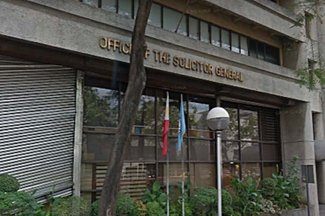 OFFICE OF THE SOLICITOR GENERAL OSG