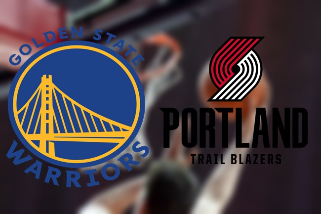 golden state warriors portland trail blaizer
