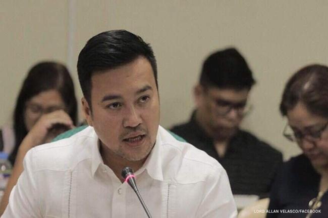 House Speaker Lord Allan Velasco