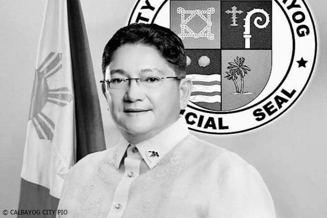 Calbayog City Mayor Ronaldo Aquino