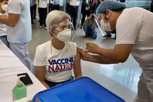 Vice Mayor Honey Lacuna-Pangan MANILA VACCINATION