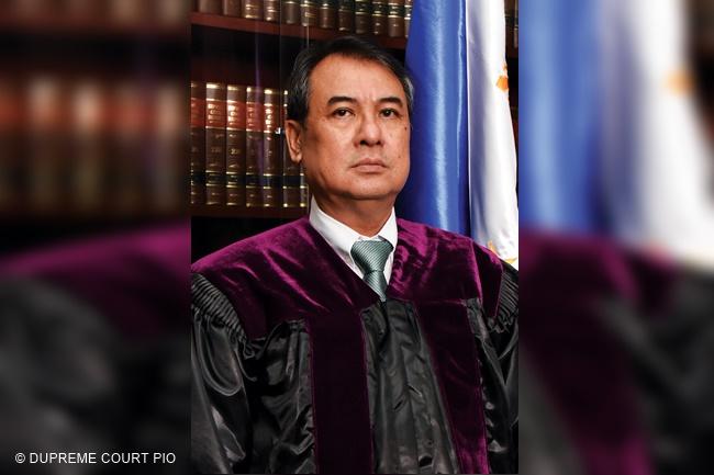 Chief Justice Alexander Gesmundo.