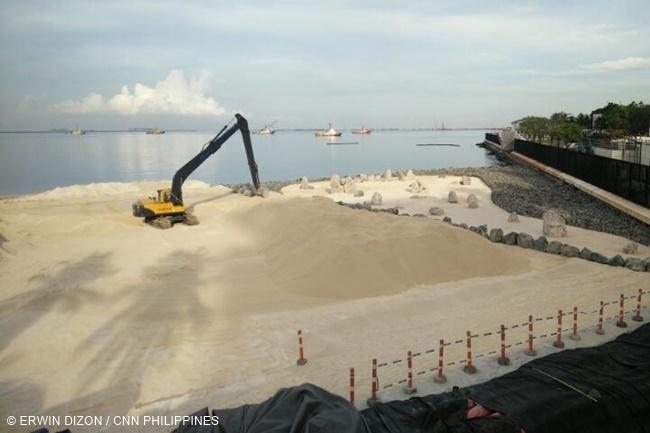 MANILA BAY DOLOMITE SAND