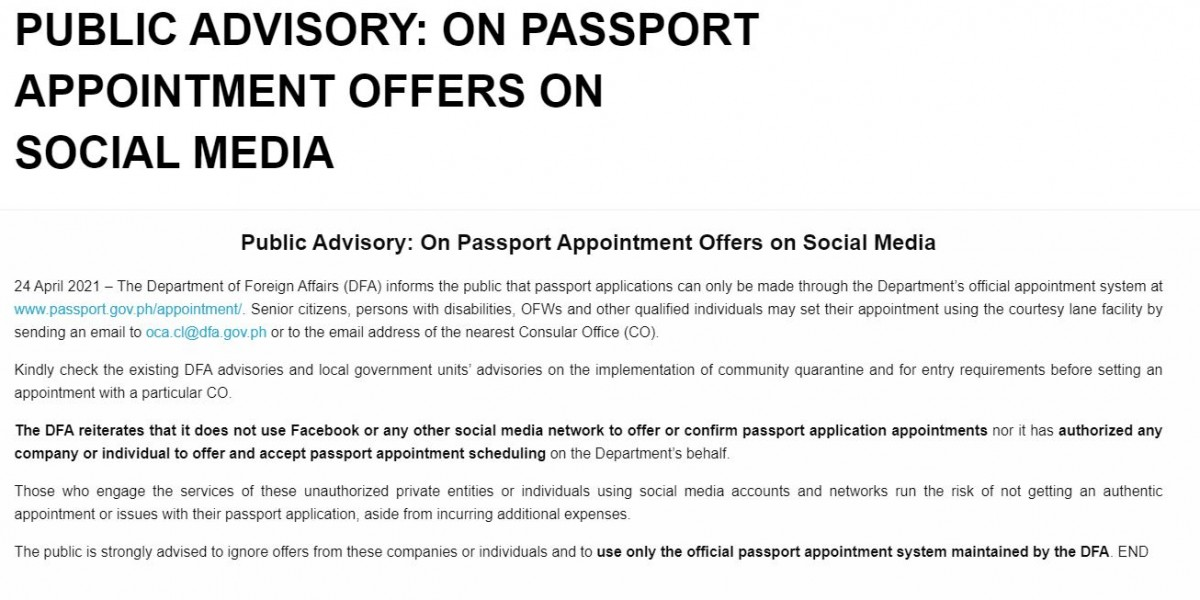 dfa passport 1