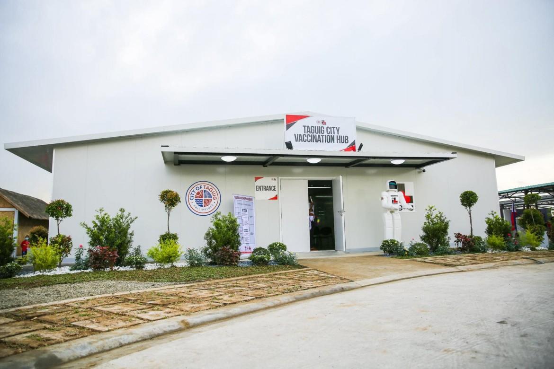 tagig vaccination hub