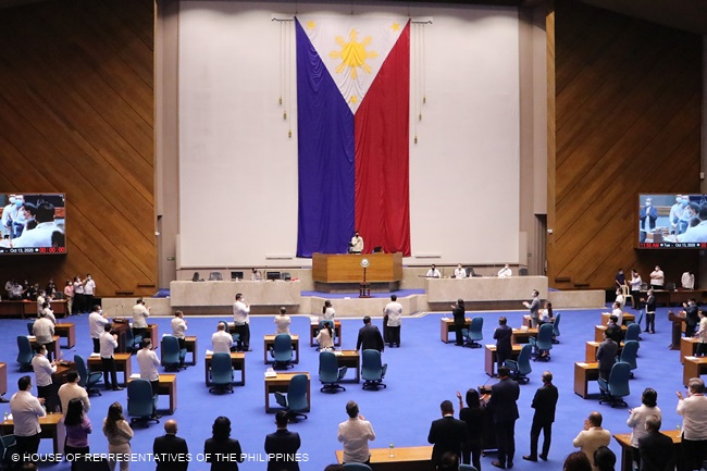 HOUSE OF REPRESENTATIVES OF THE PHILIPPINES