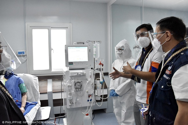 NKTI modular hemodialysis facility