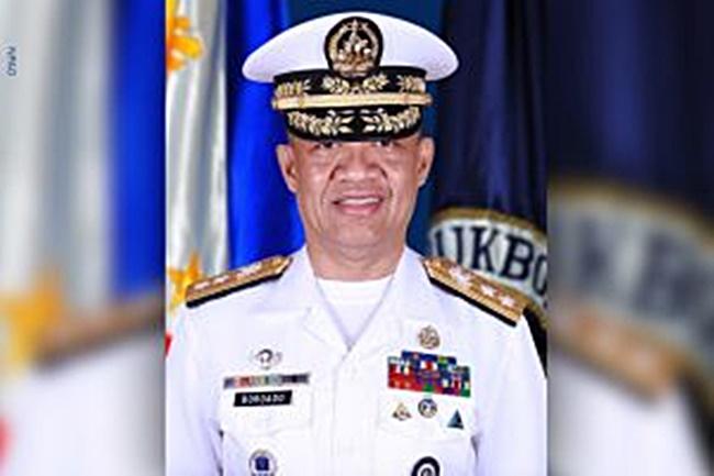Rear Admiral Adelius Bordado