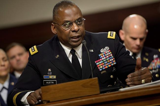 US Defense Secretary Louis Austin