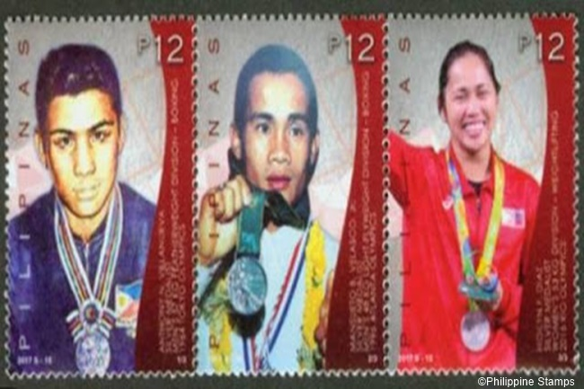 ATHLETE STAMPS