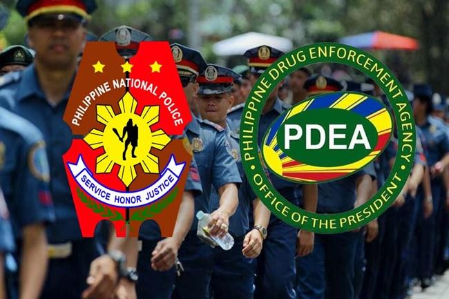 PNP AT PDEA