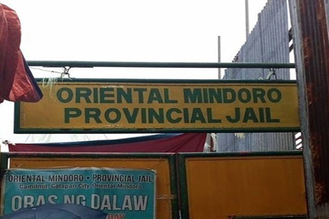 oriental mindoro provincial jail